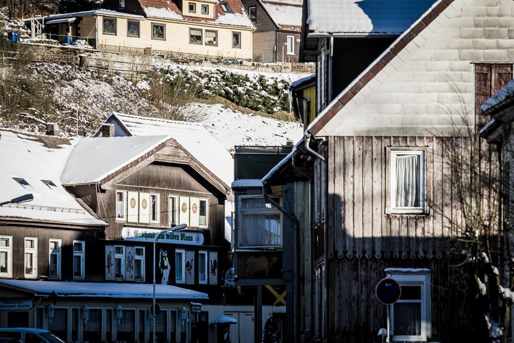 Wildemann im Winter